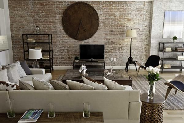 сучасні меблі в вітальню кімнату фото 7