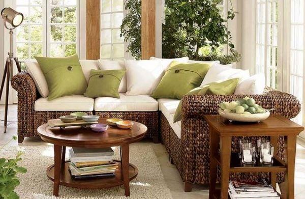 сучасні меблі в вітальню кімнату фото 8