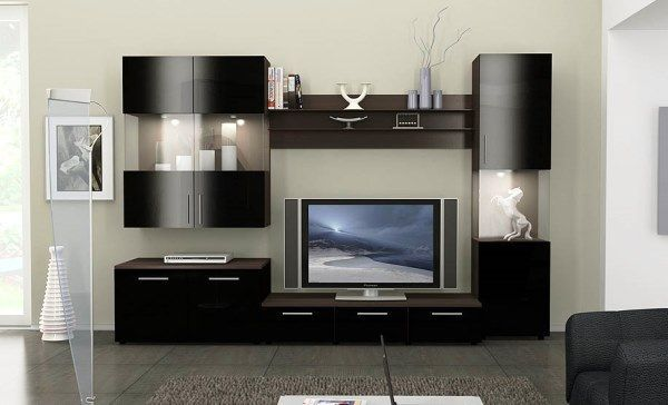 сучасні меблі в вітальню кімнату фото 9