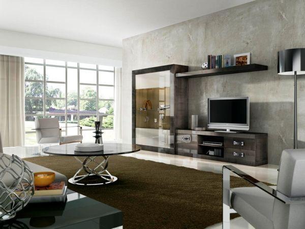 сучасні меблі в вітальню кімнату фото 10