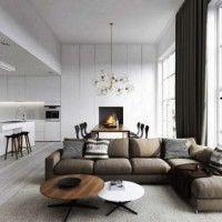 сучасні меблі в вітальню фото 12