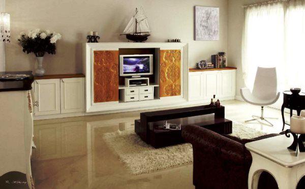 сучасні меблі в вітальню кімнату фото 6