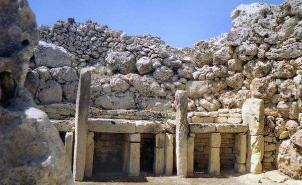 Мегалітичні храми мальти