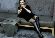 Мода на красиві ботфорти. Тенденції 2012 року на високі ботфорти. З чим носити ботфорти?