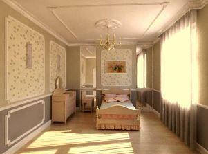 Молдинги на стінах в інтер`єрі: стильний бюджетний декор (+52 фото)