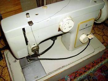 Несправності швейної машинки чайка