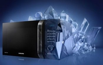 Нові свч samsung і дизайн crystal gloss
