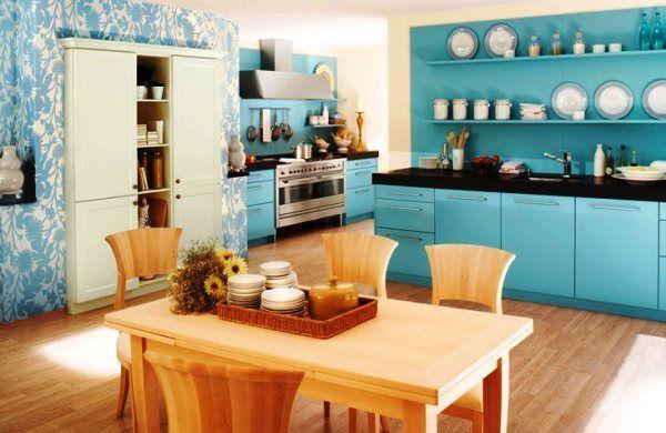 який колір шпалер вибрати для кухні фото 9