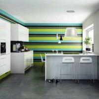 колір шпалер для кухні фото 2