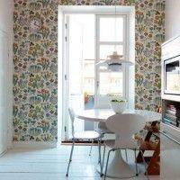 колір шпалер для кухні фото 23