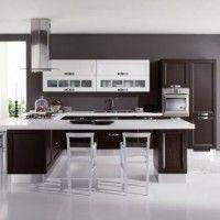 колір шпалер для кухні фото 28