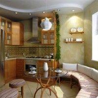 колір шпалер для кухні фото 13