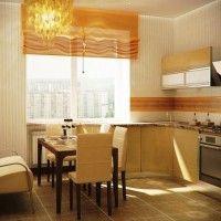 колір шпалер для кухні фото 11