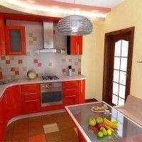 колір шпалер для кухні фото 6