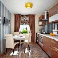 колір шпалер для кухні фото 39