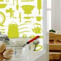 колір шпалер для кухні фото 21