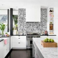 колір шпалер для кухні фото 25