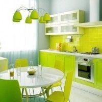 колір шпалер для кухні фото 17