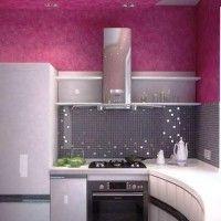 колір шпалер для кухні фото 27