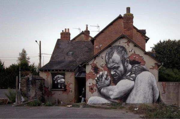 Дуже крутий street art