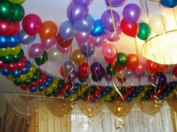 кульки на день народження фото