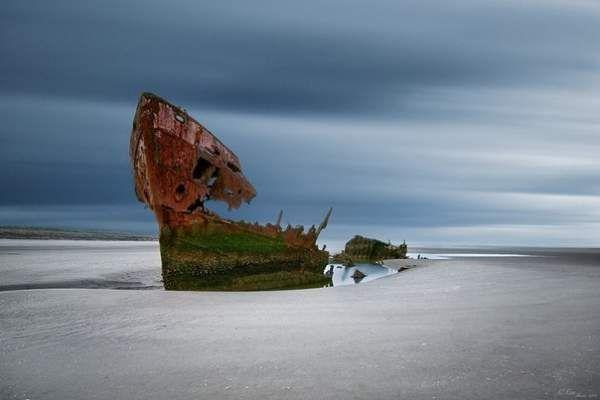 Останки судна, ірландія