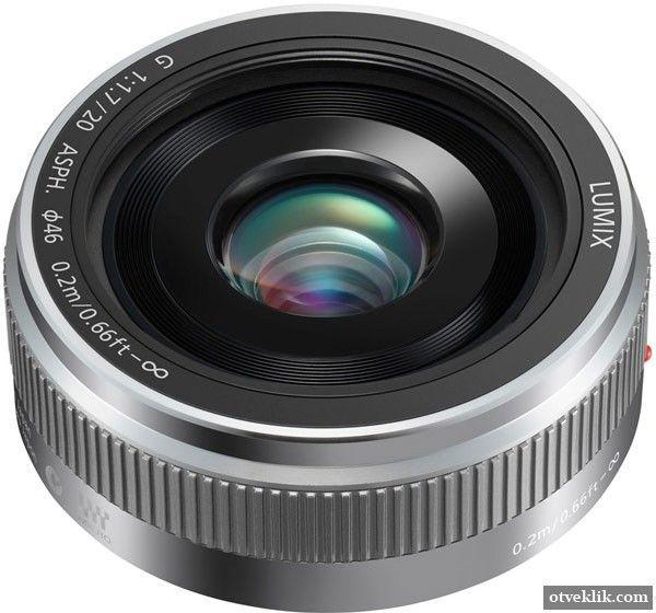Panasonic Lumix G 20 mm / F1.7 II ASPH - оновлена версія «млинчика» для камер системи Micro Four Thirds