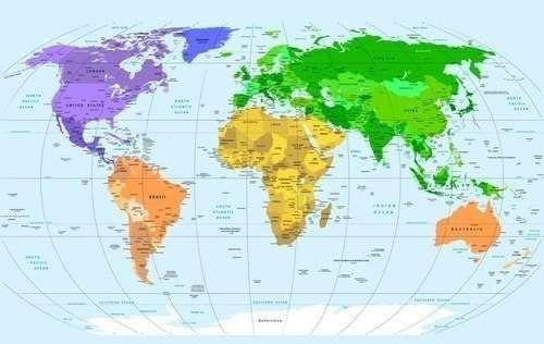 Чому частині світу отримали саме такі назви?