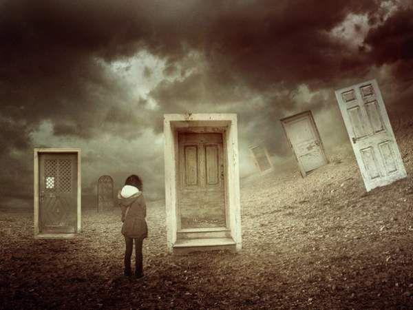 Чому люди - як двері?