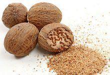 Корисні властивості мускатного горіха. Склад, застосування в народній медицині