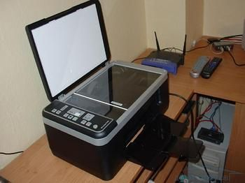 Проблеми в роботі принтера. Блимають індикатори картриджів hp4180