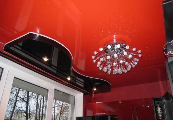 люстри на кухню для натяжних стель фото