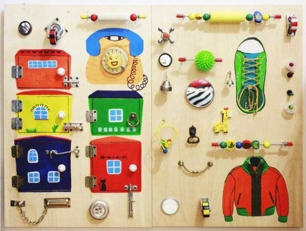 Розвиваючий модуль для дітей. Бізіборд.