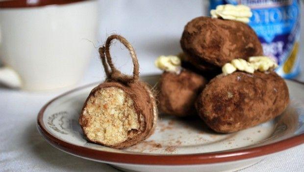 Рецепт тістечка картопля