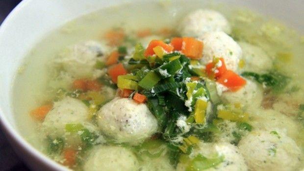 Рецепт супу з фрикадельками