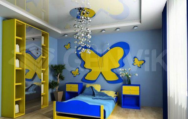 Ремонт і оформлення дитячої кімнати 10 м2
