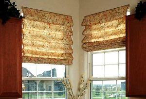 Римські штори для кухні: 40 фото оформлення вікон