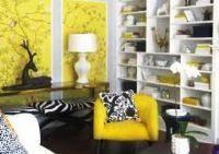 З яким кольором поєднувати жовтий колір в інтер`єрі (+60 фото і відео)
