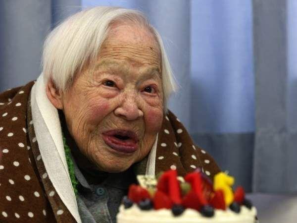 Найстарішою людиною нашої планети Японії Мисан Окава