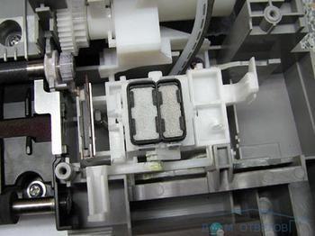 Скидання абсорбера принтера сanon ip1800