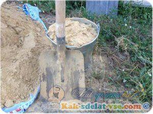 Скільки піску в відрі?
