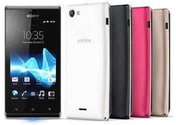 Скоро в продажу з`явиться смартфон sony xperia j