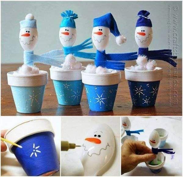 Сніговички. Колекція ідей.