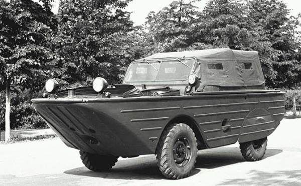 Радянські водоплавні автомобілі