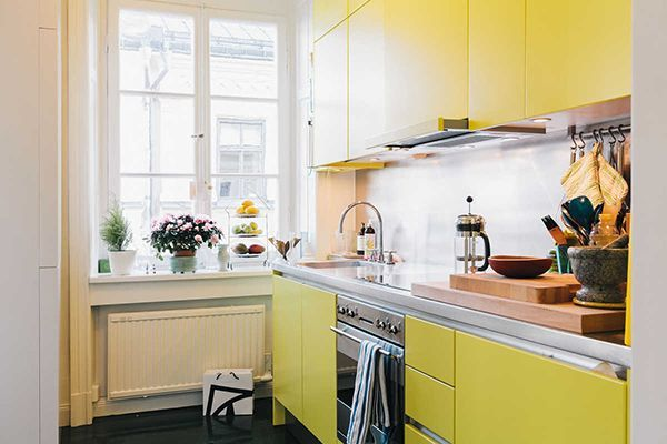 Поради з облаштування кухні в 6 квадратних метрів