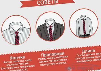 Поради щодо вибору краватки.