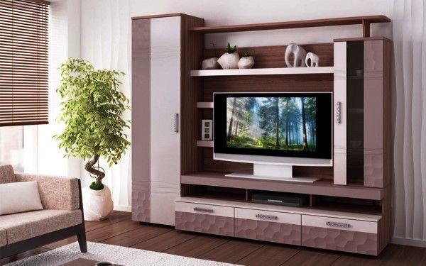 сучасна модульна меблі для вітальні фото