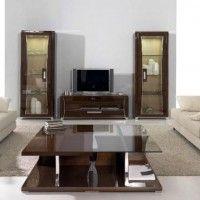 стінка у вітальні модульна в сучасному стилі фото 4