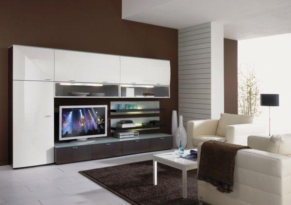 модульні меблі для вітальні в сучасному стилі фото