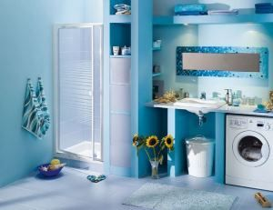 Пральна машина у ванній кімнаті: фото і практичні поради з організації інтер`єру в сучасному стилі